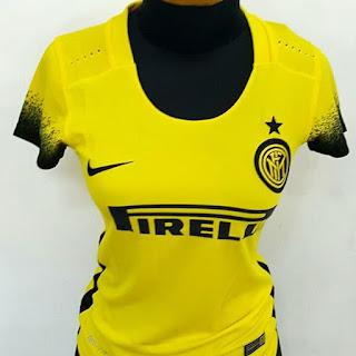 gambar desain terbaru jersey musim depan gambar foto photo kamera Jersey ladies Inter Milan third warna kuning Nike terbaru musim 2015/2016 di enkosa sport toko online terpercaya lokasi di jakarta pasar tanah abang