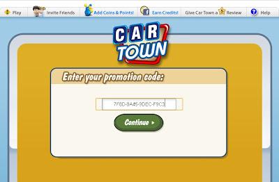 Codigos Promocionais Car Town Facebook Picture
