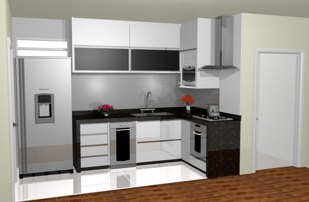 dezenas de vezes se comparados aos projetos de cozinhas de  #724323 1300 850