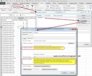 VBA: Consolidando datos con SQL dentro de Excel.