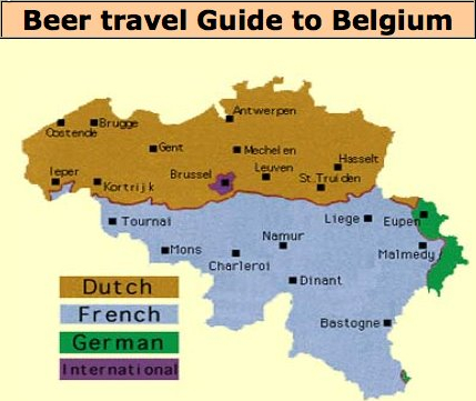i love that this map is titled as a beer guide map