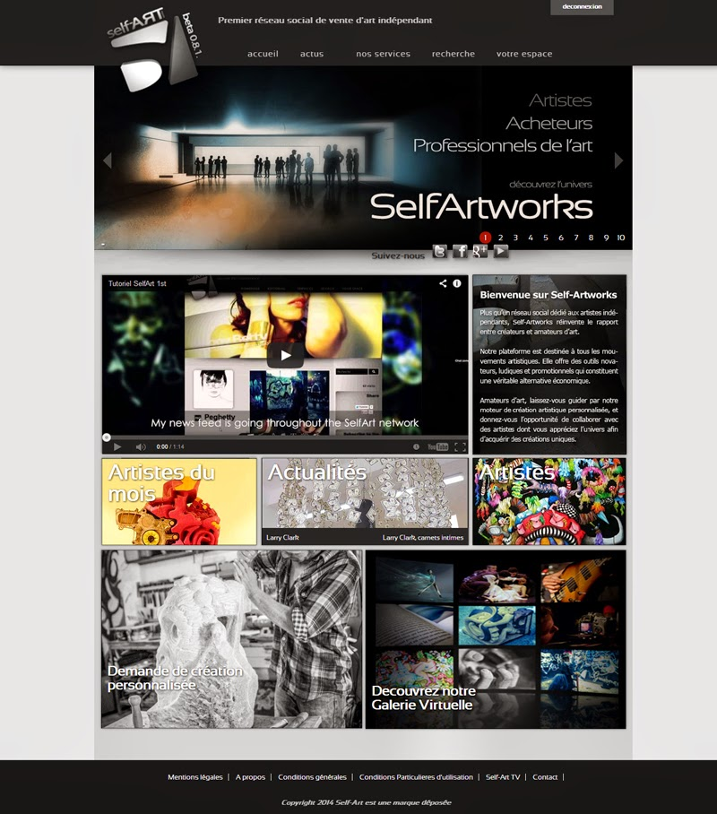 self-artworks selfartworks vente d'oeuvres d'art contemporaines