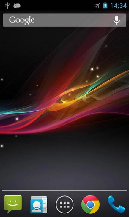 Xperia Z Live Wallpaper_Android live wallpaper