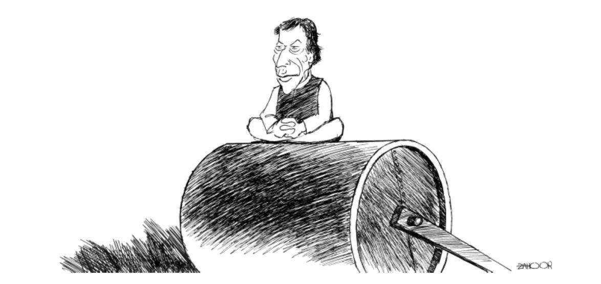 The Express Tribune Cartoon 10-8-2011- newspaper cartoon,Pakistani newspapers cartoons