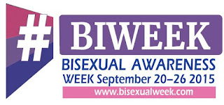 Bisexual Awareness Week (#BiWeek): September 20 - 26 2015