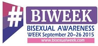 Bisexual Awareness Week (#BiWeek): September 20 - 26 2015