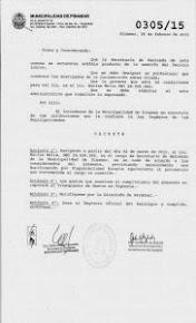 Nombramientos y cambios confirmados en el Gabinete Municipal.