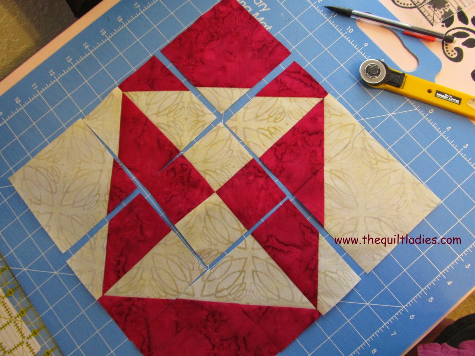 star quilt pattern from Block quilt magazine pattern