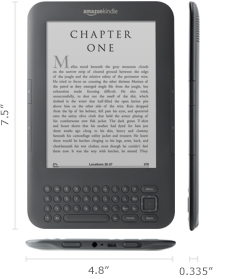 Kindle Size