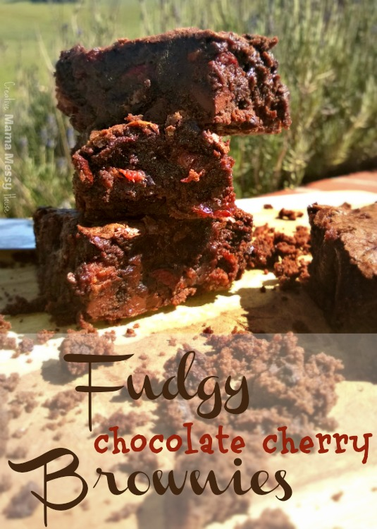 Fudgy Chocolate Cherry Brownies. So good, you'll be amazed. If you like chocolate and cherries (who doesn't?) you need this recipe!