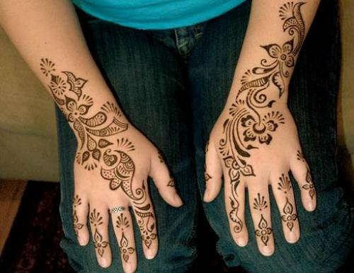New Party Mehndi Designs : Mehandi designs for hand say