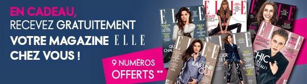 9 Exemplaires Gratuits du magazine ELLE