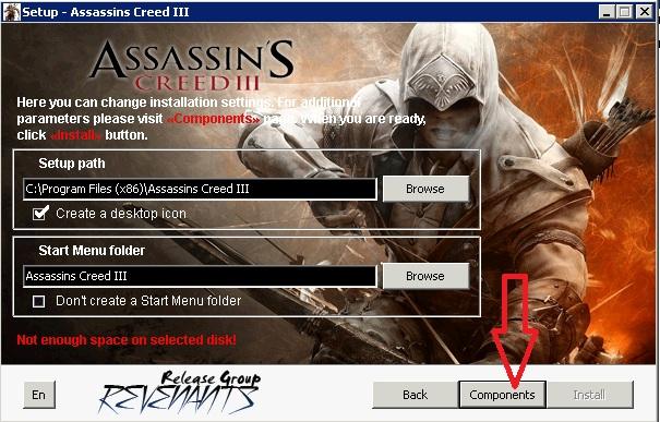 Скачать кряк для Assassins Creed 3 через торрент