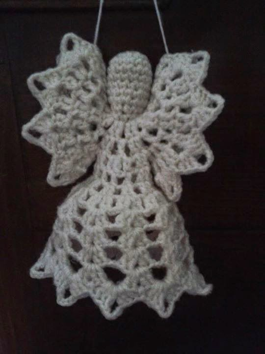 Crochet Patterns Free Angel : Crochet angel free pattern ~ Free Crochet Patterns
