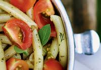Salada de Penne ao Pesto (vegana)