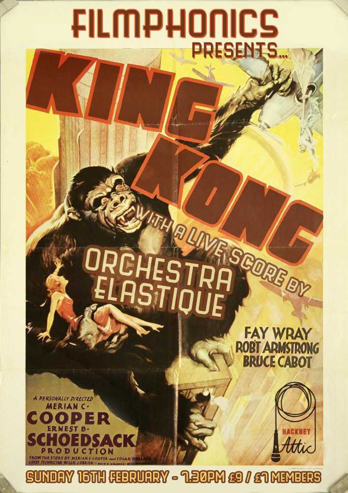FILMPHONICS presents King Kong Orchestra Elastique