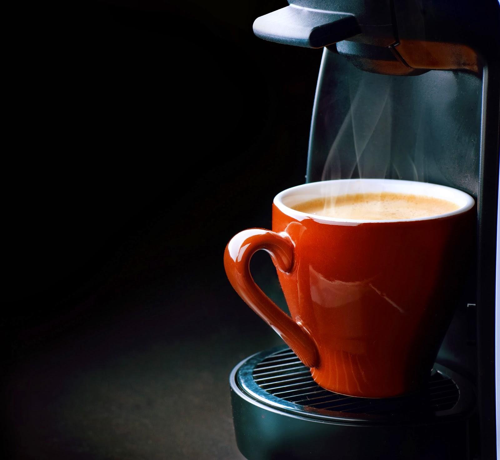 Steaming Cup Of Coffee A steaming cup of coffee