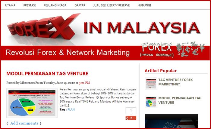 Forex blogger malaysia