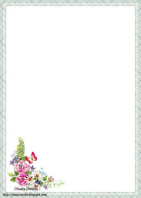 Creazioni cla carta da lettere stampabile for Fogli da colorare e stampare