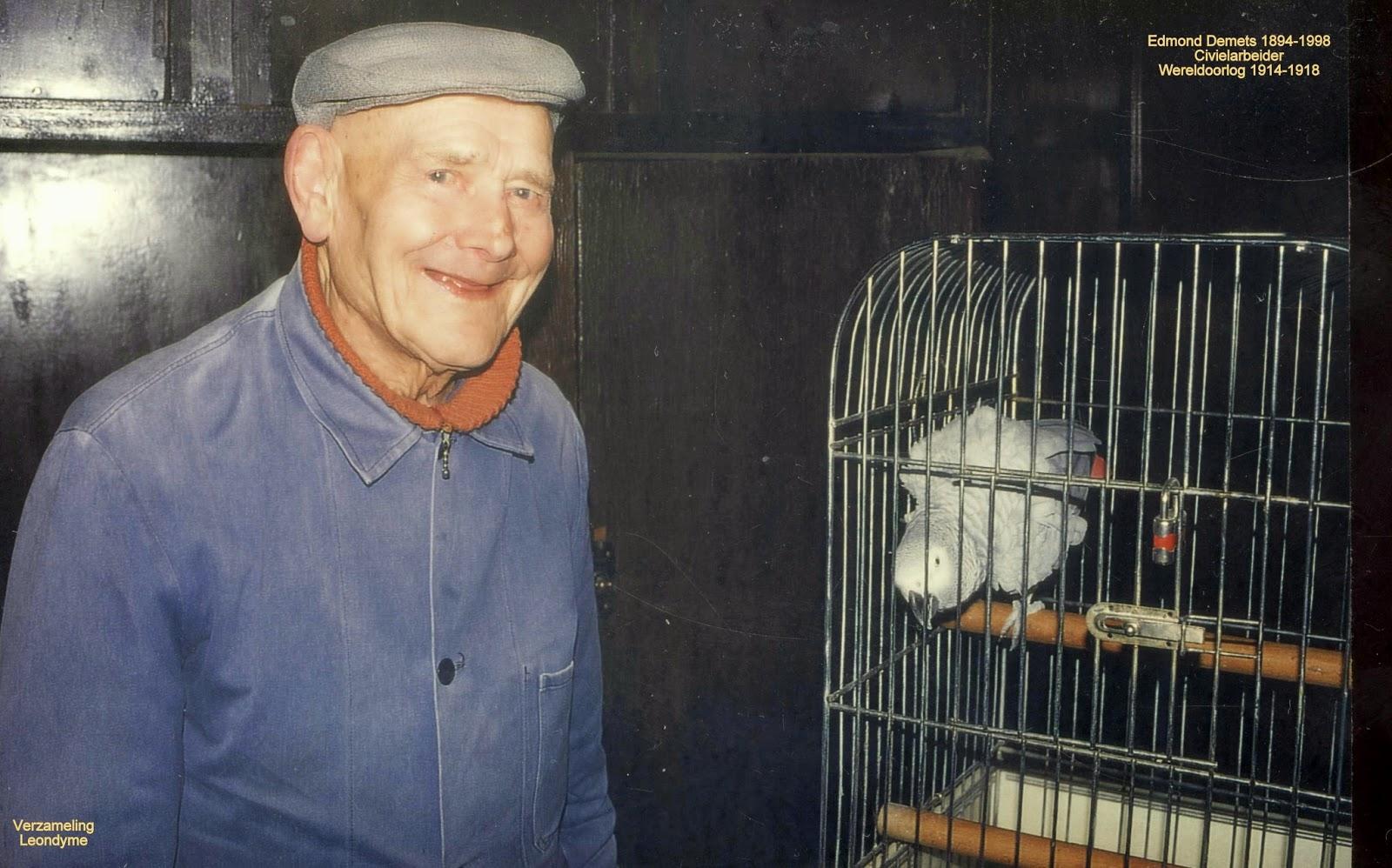 Edmond Demets 1894-1998. Verzameling Leondyme