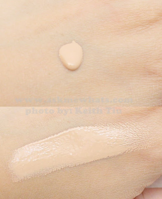 a swatch photo of The Body Shop Fresh Nude Foundation shade 024