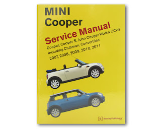 Bentley Service manual for 2007-2011 MINI cooper