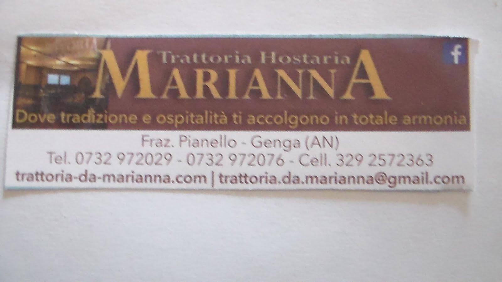 Trattoria Osteria da Marianna
