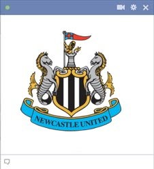 newcastle united Kode Emoticon Chat Facebook Klub (Team) Sepakbola