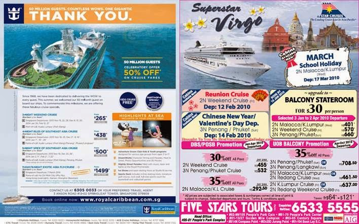 Second Drop Attractions Royal Caribbean Vs Star Cruises - Cruise packages