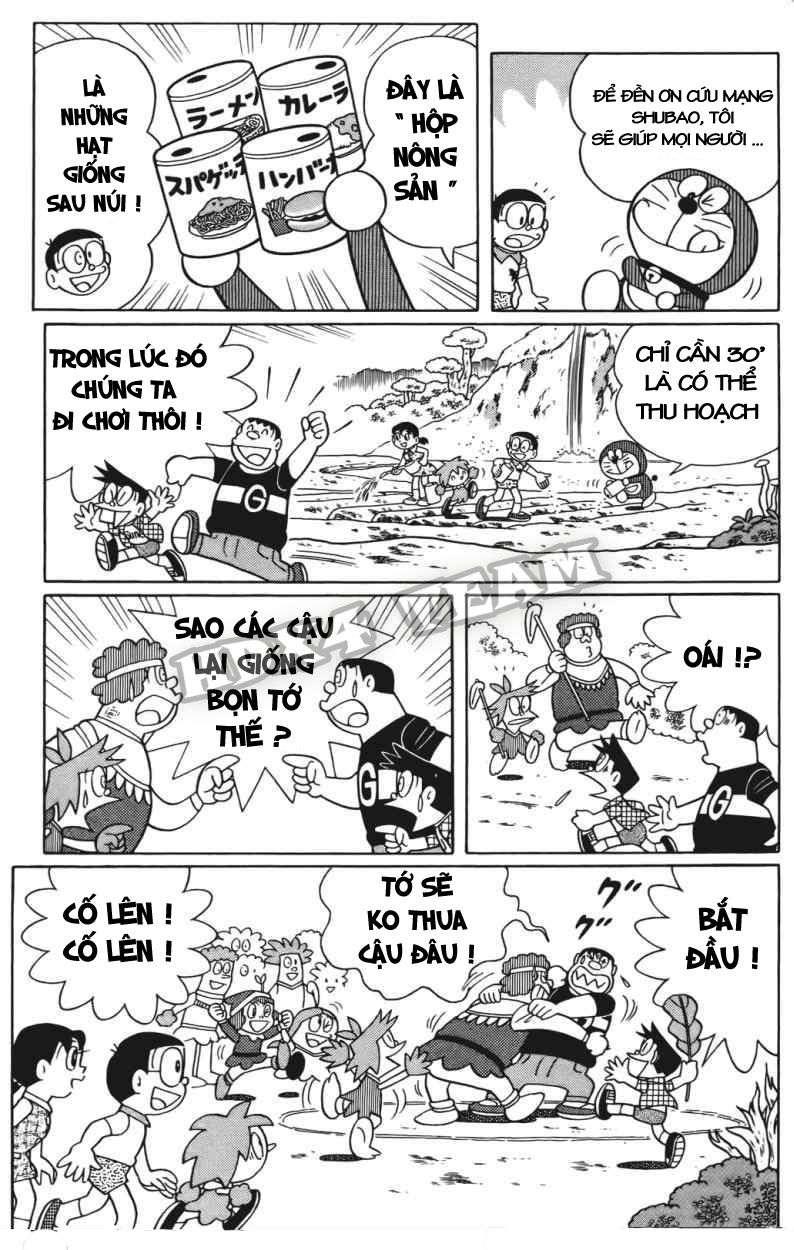 Truyện tranh Doraemon Dài Tập 25 - Nobita và truyền thuyết thần rừng trang 149