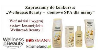 zestaw kosmetyków Wellness&Beauty