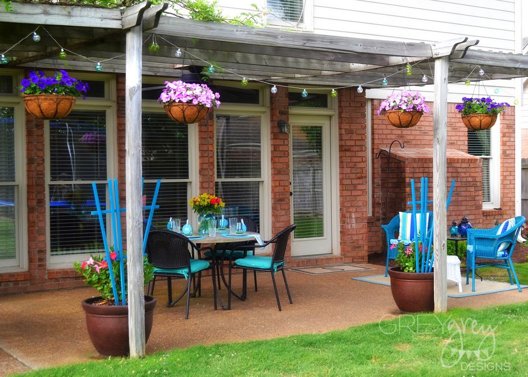 Iu0027m So Excited About How Bright And Inviting My Patio Looks Now, Thanks To Pier  1 Imports!