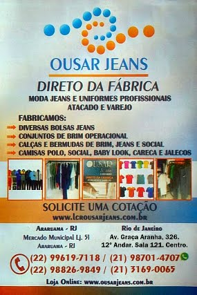 Ousar Jeans e Uniformes