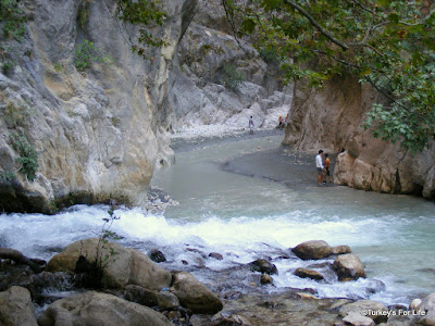 Rapids At Saklikent Gorge