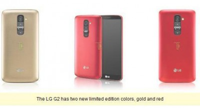 Sambut Imlek, LG G2 Resmi Umumkan 2 Warna Baru Limited Edition