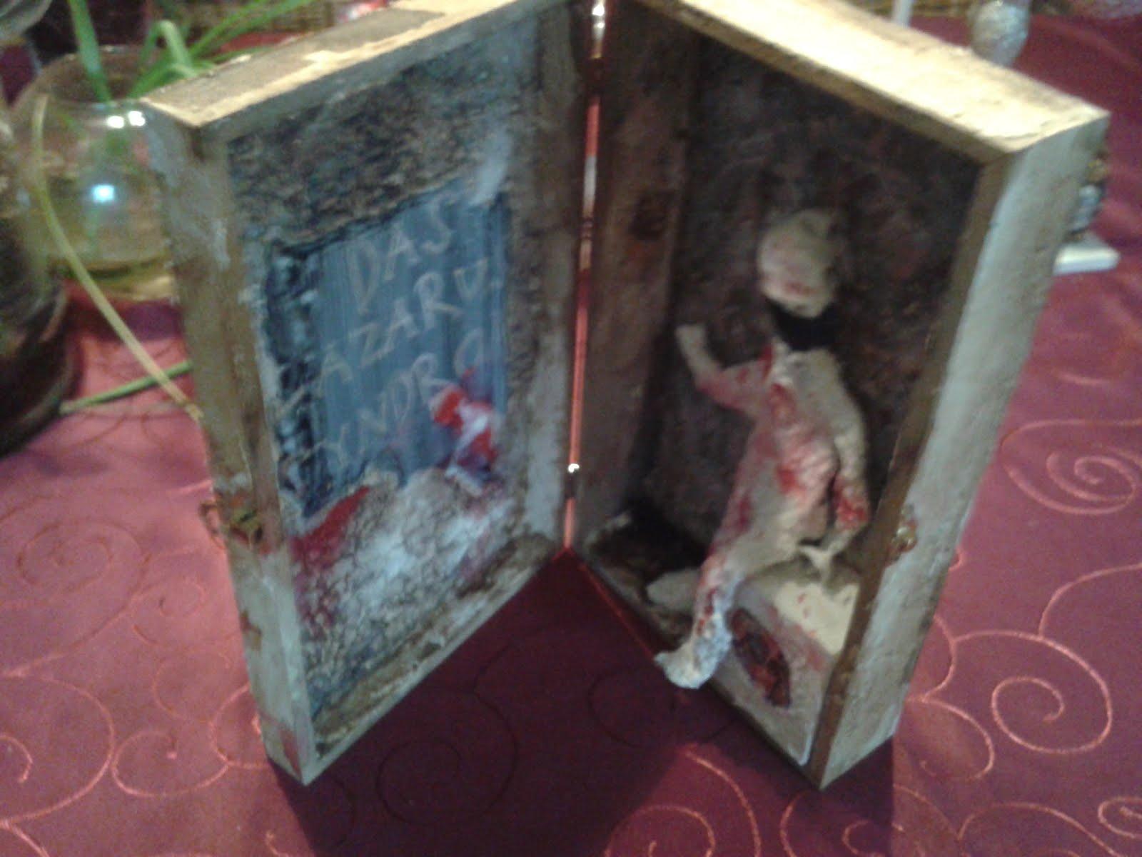 """Diese """"Kunst im Kasten Box"""" habe ich bei Acryl-Malerei Meurer gewonnen:"""