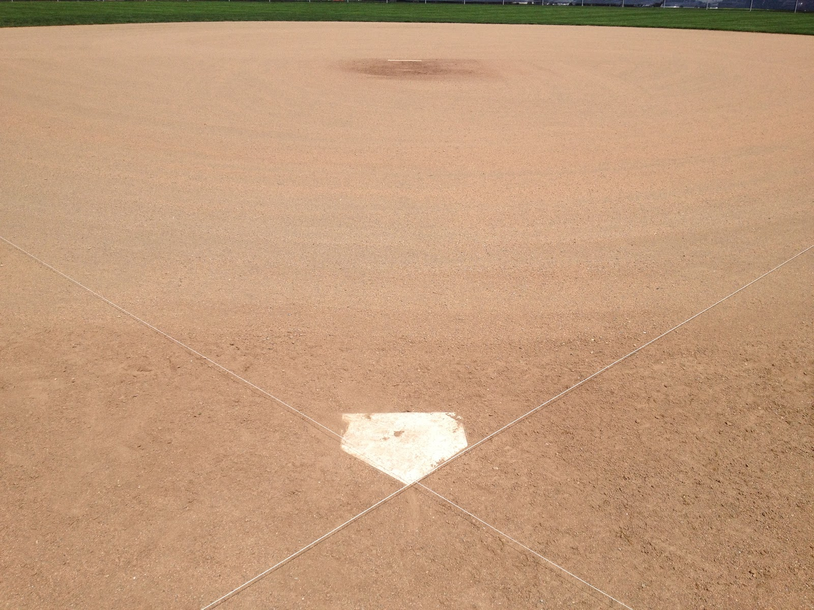 smart turf replacing a homeplate without a surveyor