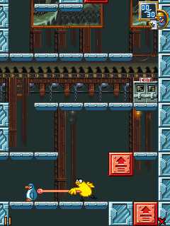 Screenshots of the The Penguin Menace: Reloaded for java mobile, phone.