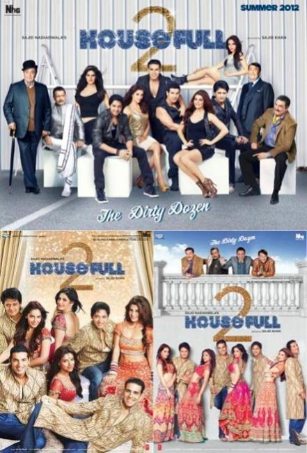 Housefull 2 first look posters, images,wallpapers