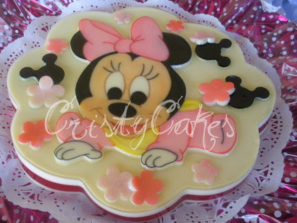 Decoracion Minnie Bebe ~ Cristy s Cakes Baby Minnie  Minnie Beb?