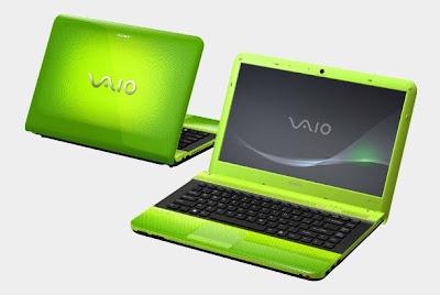 Sony VAIO EA Caribbean Green