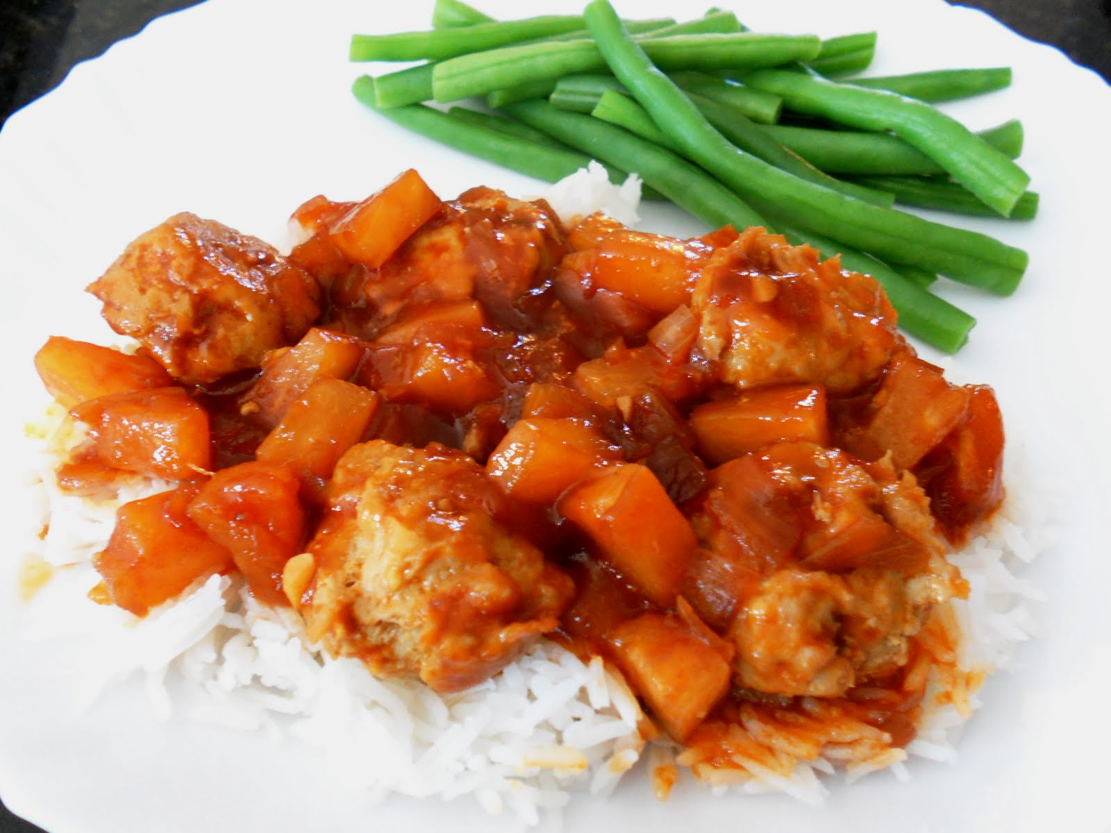... Finding the Fun in Food !: Scrumptious Sweet and Sour Chicken Balls