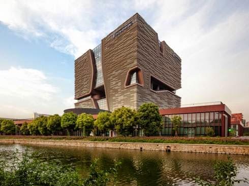 Đại học Giao thông Tây An - Liverpool, tạiTô Châu, Trung Quốc - Công ty dịch vụ kiến trúc Aedas thiết kế (lọt vào danh sách công trình giáo dục đại học và nghiên cứu)