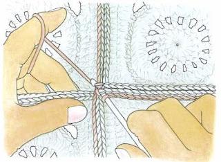 Nella valigia della buru tutti i modi per unire le vostre mattonelle all 39 uncinetto granny patch - Piastrelle di lana all uncinetto ...