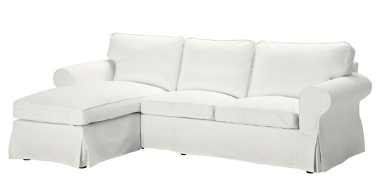 EKTORP Loveseat And Chaise In White $499 At IKEA U2013 A Great End Seat For  Putting Up Your Feet And Relaxing! Comfortable, Easy To Move, And Affordable