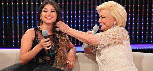 Corte do cabelo Paula Fernandes