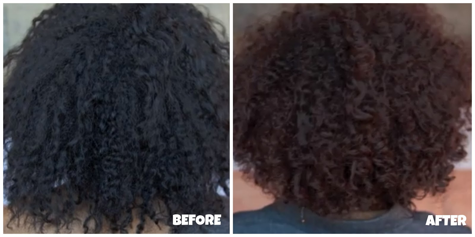 Shea Moisture Color Chart | Dark Brown Hairs