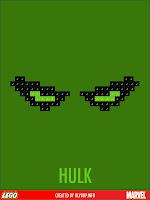 superheros lego hulk
