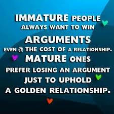 Quotes on maturity and love