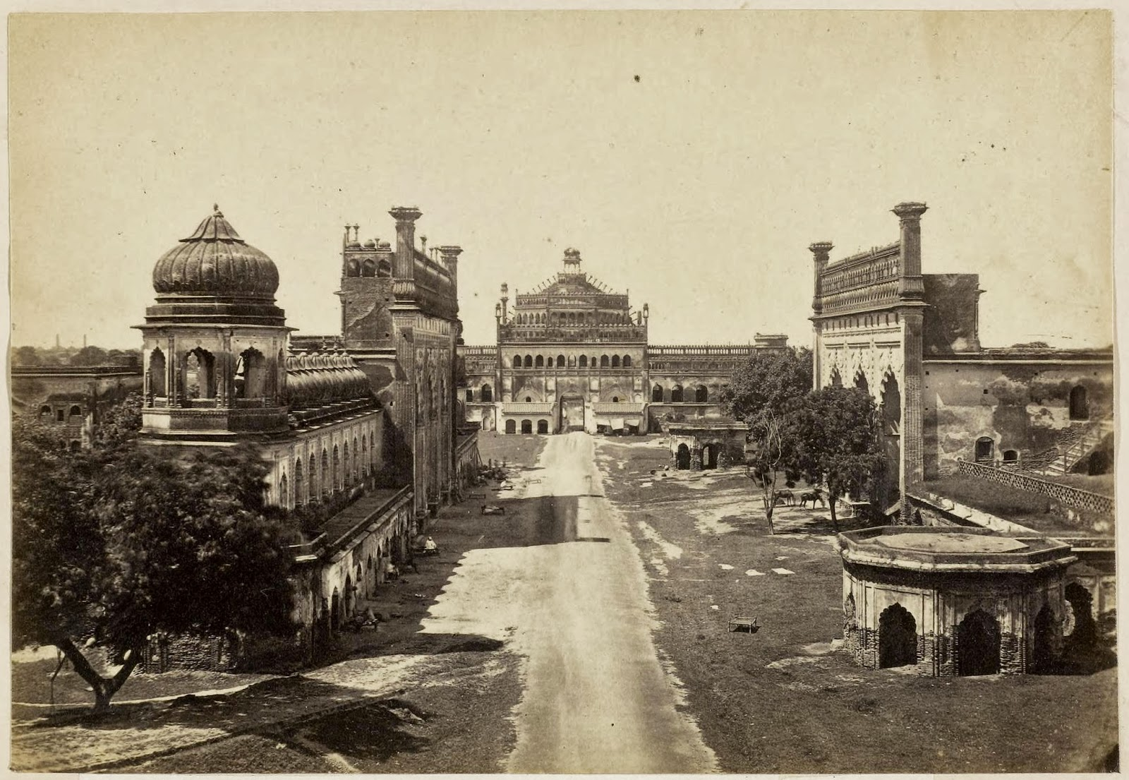 Gate Of The Great Imambara Of Nawab Assuf Ood Daulah Lucknow 1870 39 S Old Indian Photos